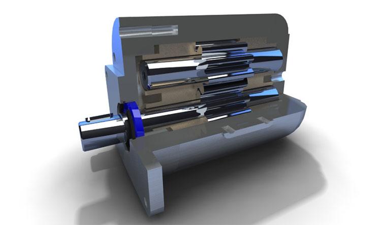 Устройство шестеренного гидромотора